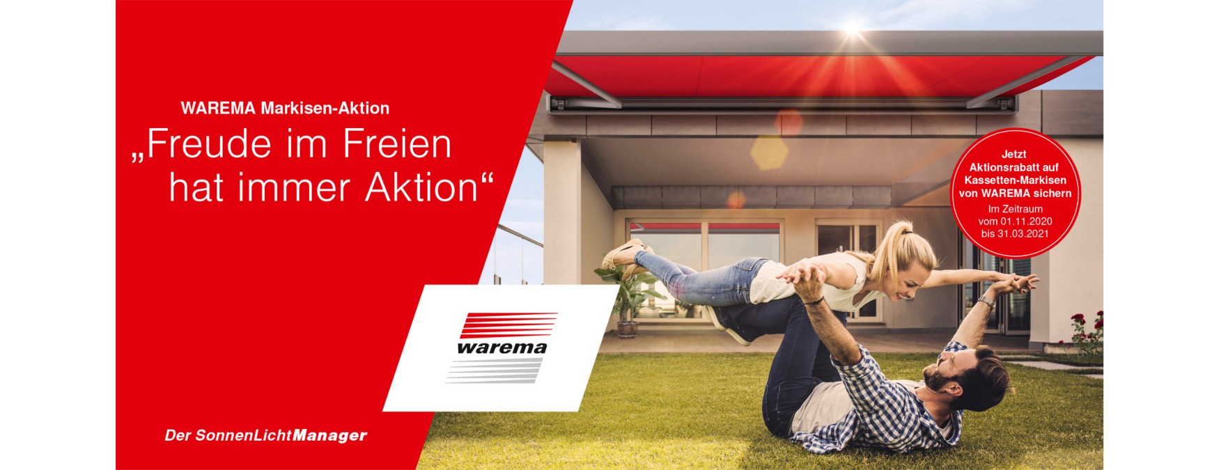 Warema Markisen-Aktion